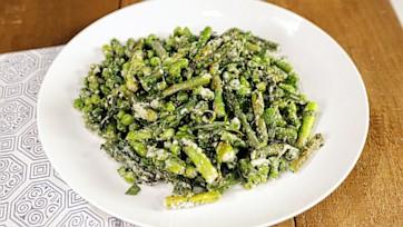 Asparagus and Pea Saute