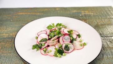 Spring Pea & Radish Salad