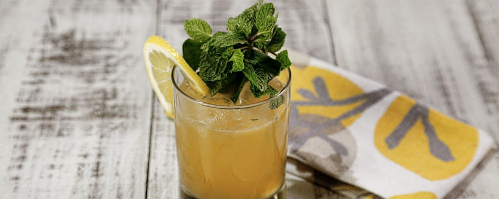 Whiskey Smash Recipe by Michael Symon - The Chew