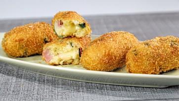 Ham & Pea Potato Croquettes