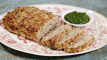 Herby Turkey Meatloaf