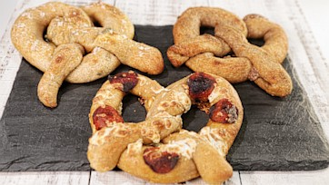 Stuffed Soft Pretzel Party