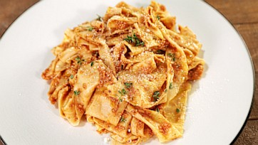 "Quick Mushroom ""Bolognese"""