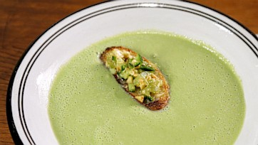 Cucumber and Almond Soup