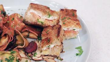 Smoked Salmon Reuben Sandwich
