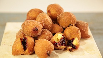 Blackberry Hushpuppies