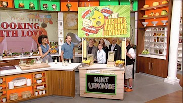 The Chew Surprises the Salazars with a New Lemonade Stand!