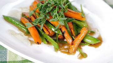 Grilled Vegetables En Papillote
