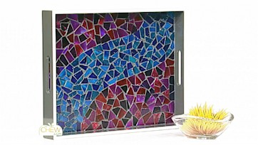 DVD Mosaic Trays Craft by Clinton Kelly