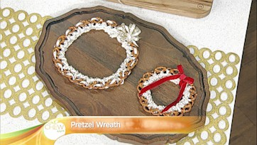 Pretzel Wreath Craft