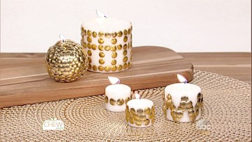 Thumbtack Votive Candles