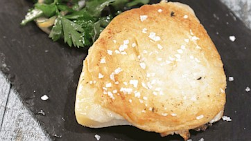 Grilled Provolone with Marinated Lemon Salad Recipe by Mario Batali