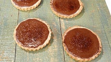 Chocolate Creme Brulee Tart Recipe by Michael Symon
