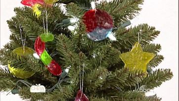 Chic and Sweet Candy Ornament Craft