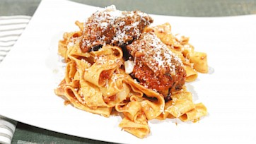 Tagliatelle with Sunday Sauce Recipe by Mario Batali
