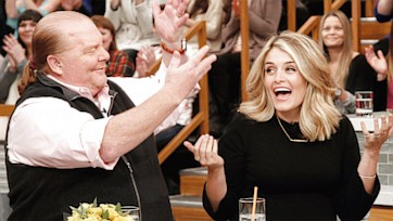 Daphne Oz Returns to The Chew