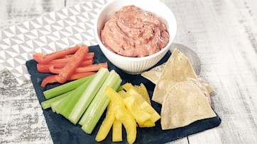 Tomato-Basil Ranch Dip Recipe