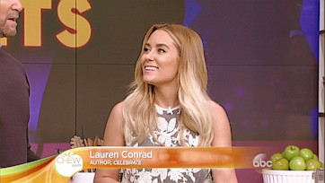 Lauren Conrad Visits The Chew