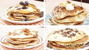 Perfect Pancakes: 4 Ways