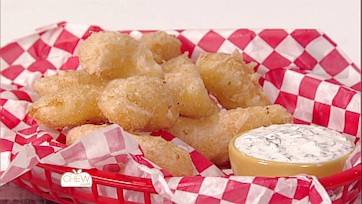 Fried Cheese Curds & Fried Pimento Cheese Sticks Recipes: Part 1