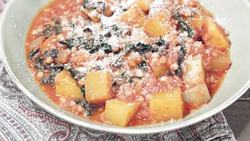 Fregola in Tomato Sauce Recipe: Part 2