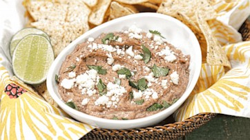 Smoky Black Bean Dip Recipe