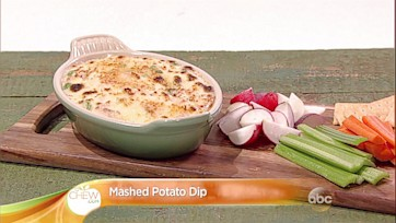 Mashed Potato Dip Recipe