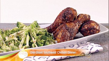 One-Sheet Southwest Chicken Dinner Recipe