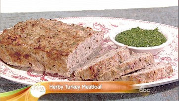 Herby Turkey Meatloaf Recipe by Clinton Kelly