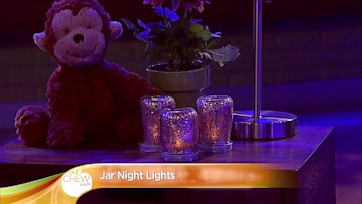 Jar Night Lights Craft