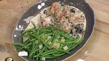 Provencal Chicken with Olives, Green Beans & Potatoes Recipe: Part 1