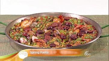 Spring Paella Recipe