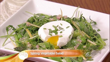 Spring Vegetable Salad Recipe: Part 1