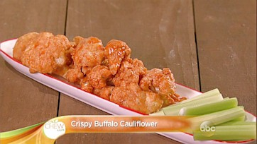 Crispy Buffalo Cauliflower Recipe: Part 1