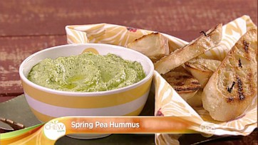 Spring Pea Hummus Recipe