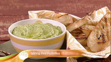 Spring Pea Hummus Recipe