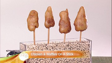 Chicken & Waffles On A Stick Recipe: Part 2