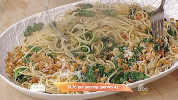 Spaghetti with Ramps Recipe