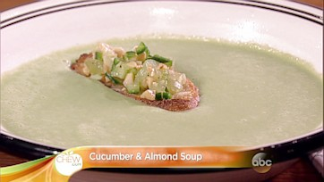 Cucumber and Almond Soup Recipe: Part 2