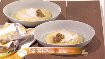 Poached Eggs with Soft Parmesan Polenta: Part 1