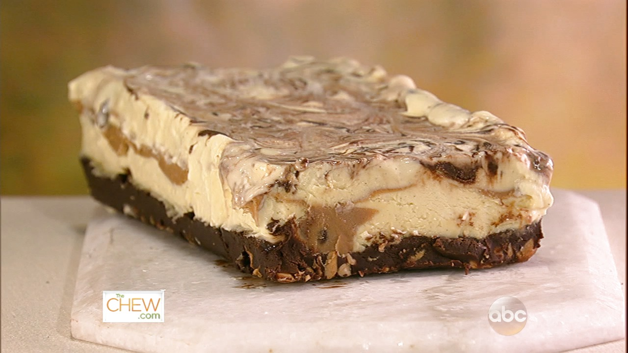 Chocolate Peanut Butter Semifreddo: Part 1 Video | The Chew - abc.com