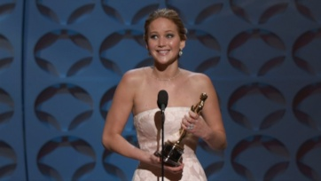 Jennifer Lawrence Wins the Oscar for Best Actress - The
